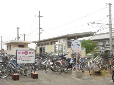 JR道上駅まで400m