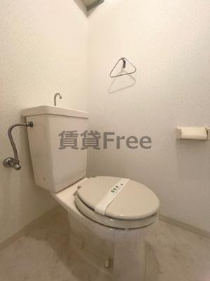 【トイレ】ボングービル 仲介手数料無料