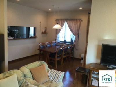 【居間・リビング】富士川町大椚積水ハウス施工中古住宅