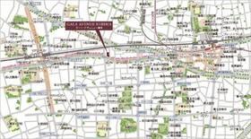 【地図】ガーラ・アヴェニュー練馬