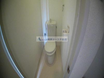 【トイレ】ハイムM&K鴻池
