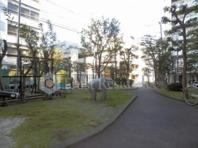 【庭】新大橋永谷マンション