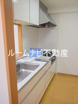 【キッチン】コンフォリア板橋仲宿