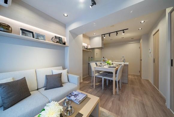 リフォーム済みの綺麗なお部屋です。 家具はイメージです。