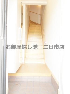 【玄関】れんこん2号館D