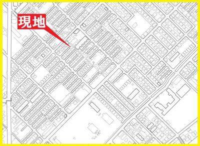 【地図】越谷市大林売地
