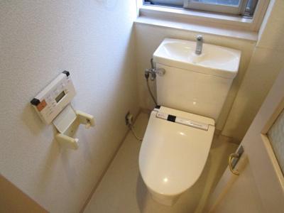 【トイレ】城やまガーデンハウス
