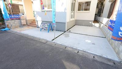 駐車スペースもあります 三郷新築ナビで検索
