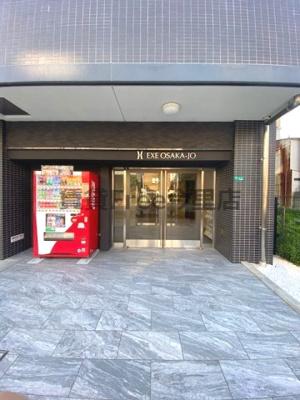【エントランス】エグゼ大阪城 仲介手数料