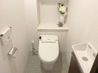 リビオレゾン日本橋浜町のトイレです。