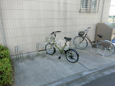 駐輪スペース・ガーデンケヤキ