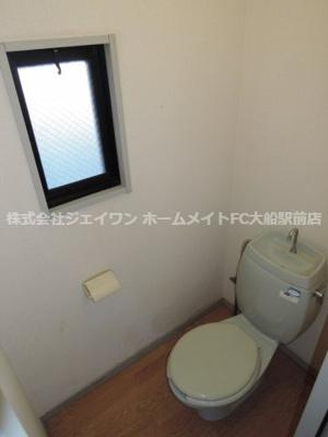 【トイレ】サンヴィレッジ華A
