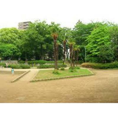公園「常盤公園まで1456m」