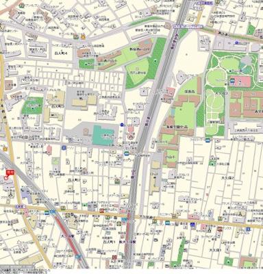 【地図】レグノ・セレーノ