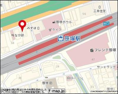 【地図】スカイコート笹塚駅前