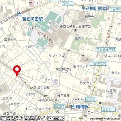 【地図】ゼクシア市谷台