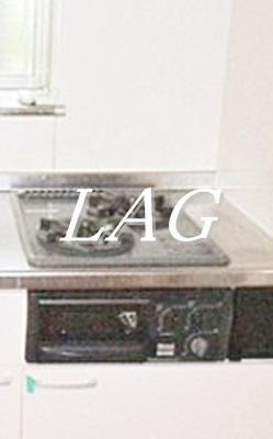 2口コンロのキッチンです。