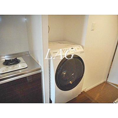 室内洗濯機置き場です。(イメージです)