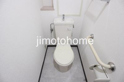 【トイレ】バース波除
