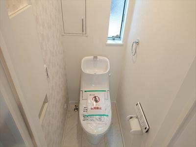 【トイレ】足立区西新井本町1丁目新築戸建て