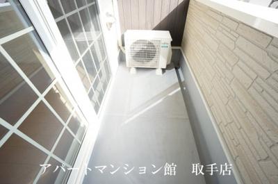 【バルコニー】オリエンタル・ヴィラ