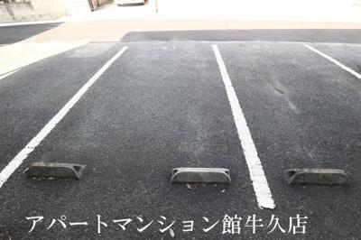 【駐車場】ヴィラージュ牛久