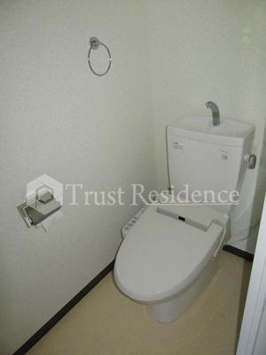 【トイレ】レクセルマンション上野松が谷