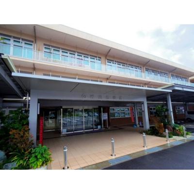 病院「飯田市立病院まで585m」