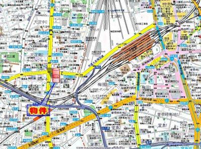 【地図】福島プライマリーワン