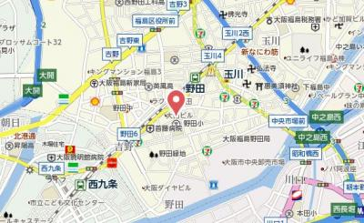 【地図】フォーラム福島・野田