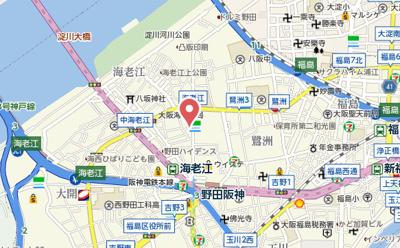 【地図】プールトゥジュールウメダウエスト