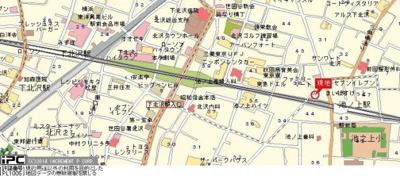 【地図】ソフィア下北