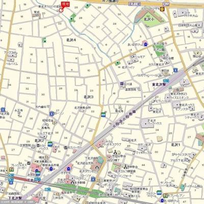 【地図】及川アパートメント