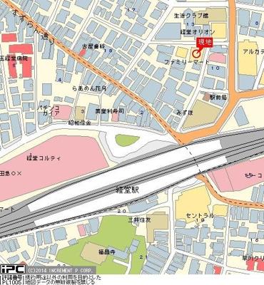 【地図】ライオンズマンシヨン経堂第6