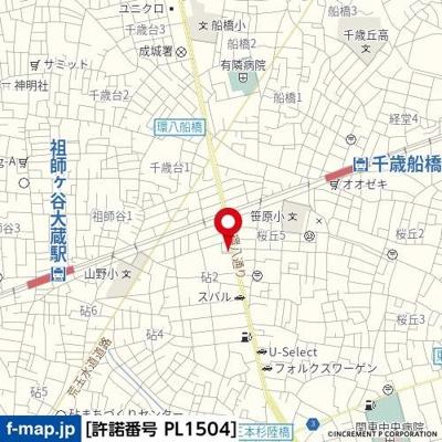 【地図】メゾン・ド・オーポン