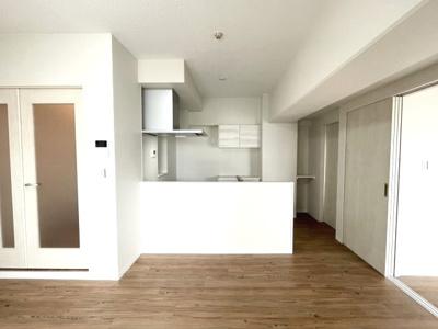 キッチンの背面に戸棚を設置 R3年10月大規模リノベーション済