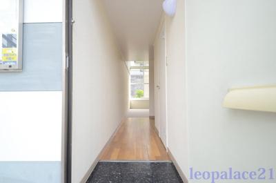 【玄関】レオパレス板谷B棟