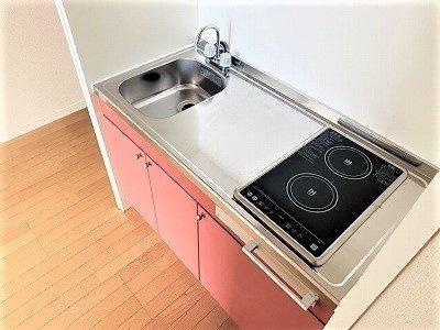 【キッチン】レオパレス板谷B棟