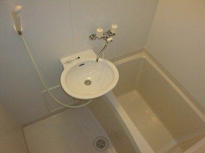 【浴室】レオパレスソレーユ花園
