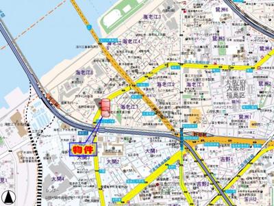 【地図】RIZEONE福島