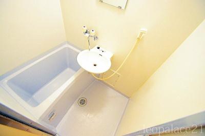 【浴室】レオパレスリベエール