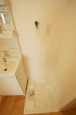 「室内洗濯機置き場」