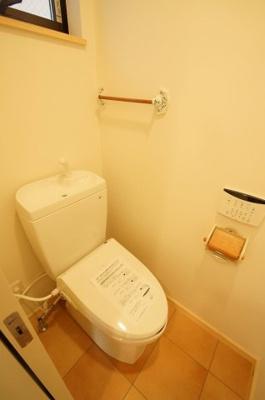 「ウォシュレット付きのトイレ」