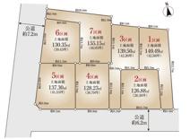 世田谷区等々力1丁目 建築条件なし売地 6区画の画像