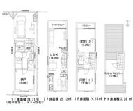 新宿区上落合1丁目 新築戸建て B号棟の画像