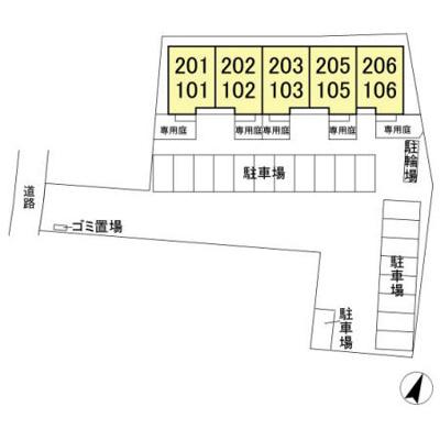 【区画図】エスポワール