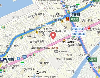 【地図】山戸マンション