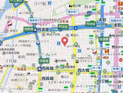 【地図】シティライフ本町西ラブニール