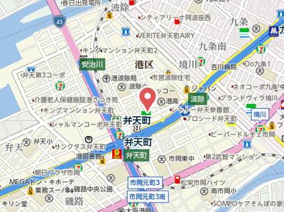 【地図】ラムール波除