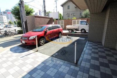 【駐車場】ジュネーゼ梅田北プラウディア